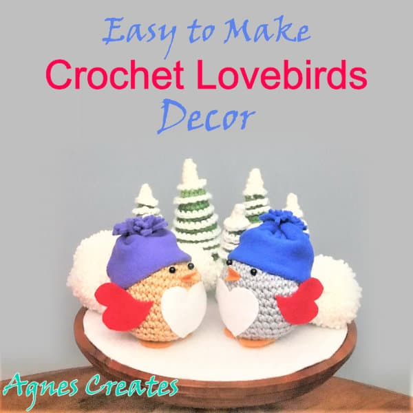 THE LOVEBIRDS crochet amigurumi pattern by Maria Handmade | Etsy | 600x600